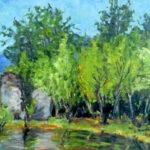 Bosconi, Magliaso 1930 - olio 45x37 cm - Proprietà: Comune di Magliaso