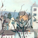 Inverno a Zurigo, 1931 - tempera 21x21 cm