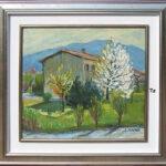 ll Chioso, Caslano 1970, olio 49x46 cm