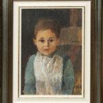 Leandro, 1947, olio 21x29 cm