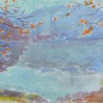 Equilibrio, 1973 - acquarello 71x49 cm